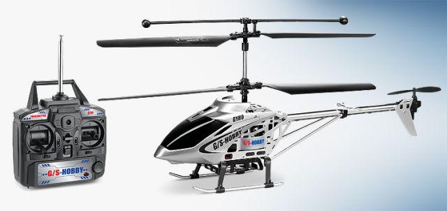 GS 350 távirányítós RC helikopter giroszkóppal