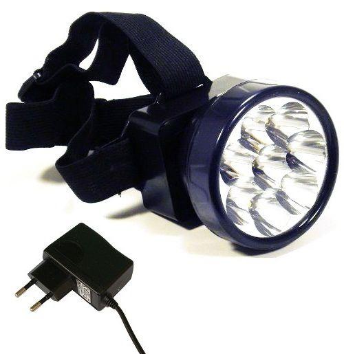Fejlámpa Headlight Master-1, tölthető, akkumulátoros