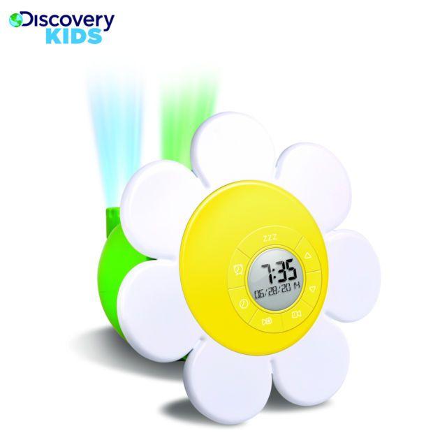Ébresztőóra kisgyerekeknek, Discovery Kids Daisy kivetítős (projectoros)