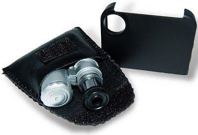 Iphone 4 UV mikroszkóp + rögzítőkeret