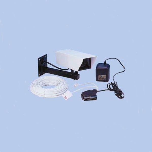 Kültéri kamera tartókonzollal, vezetékkel és adapterrel 60-28