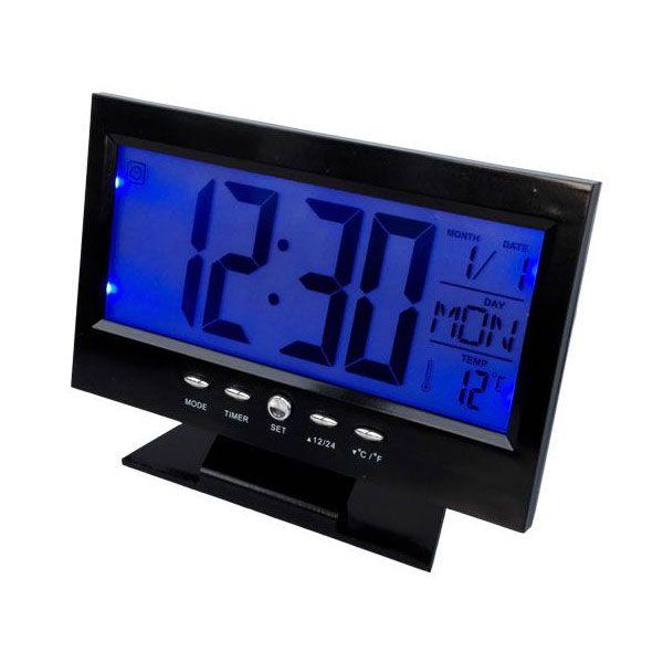 Voice Control 8082, tapsvezérelt asztali ébresztőóra