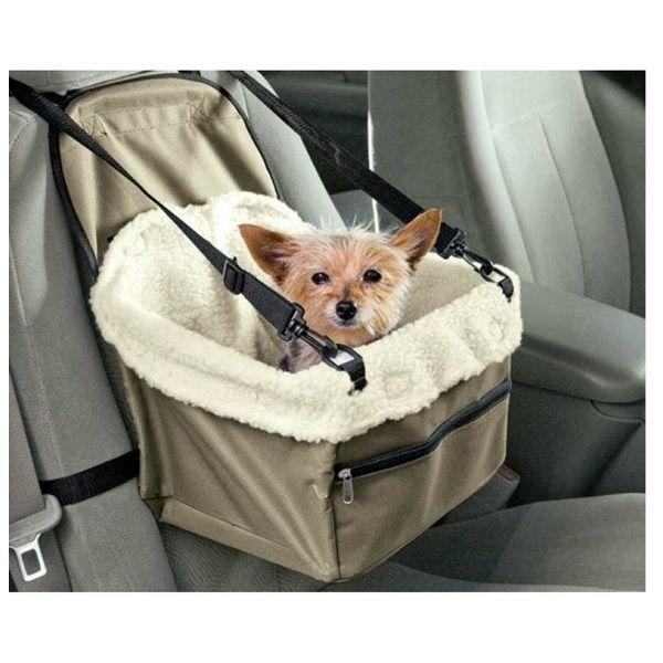 Autós biztonsági kutyaülés, kisállat hordozó