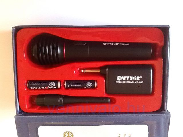 WVNGR fm wireless, vezeték nélküli mikrofon