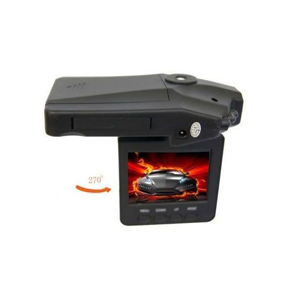 Autós HD DVR eseményrögzítő infrakamera LCD monitorral, magyar menüvel!