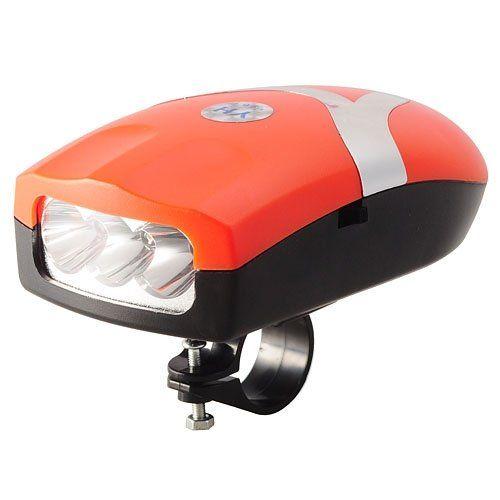 Ledes első lámpa beépített szirénával YH-0902