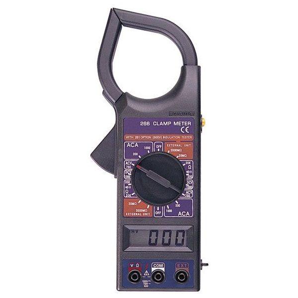 DT266, mérőműszer, multiméter, lakatfogó
