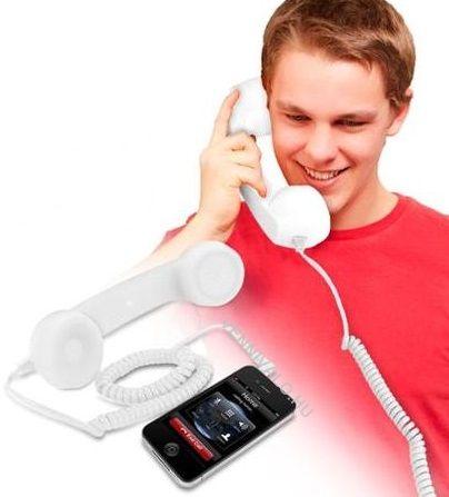 Headset, retro telefonkagyló