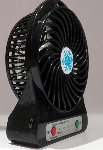 Akkumulátoros hordozható ventilátor