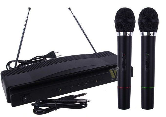 Vezeték nélküli karaoke szett