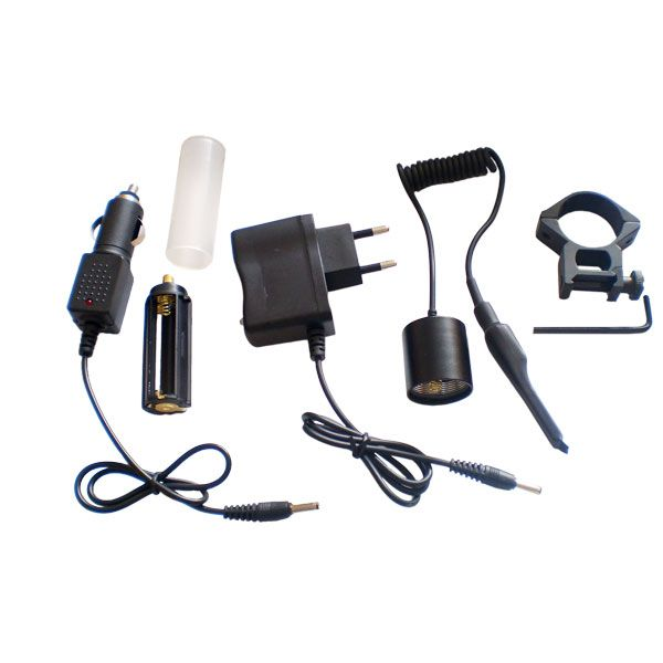 Taktikai LED lámpa szett, BL-QU12