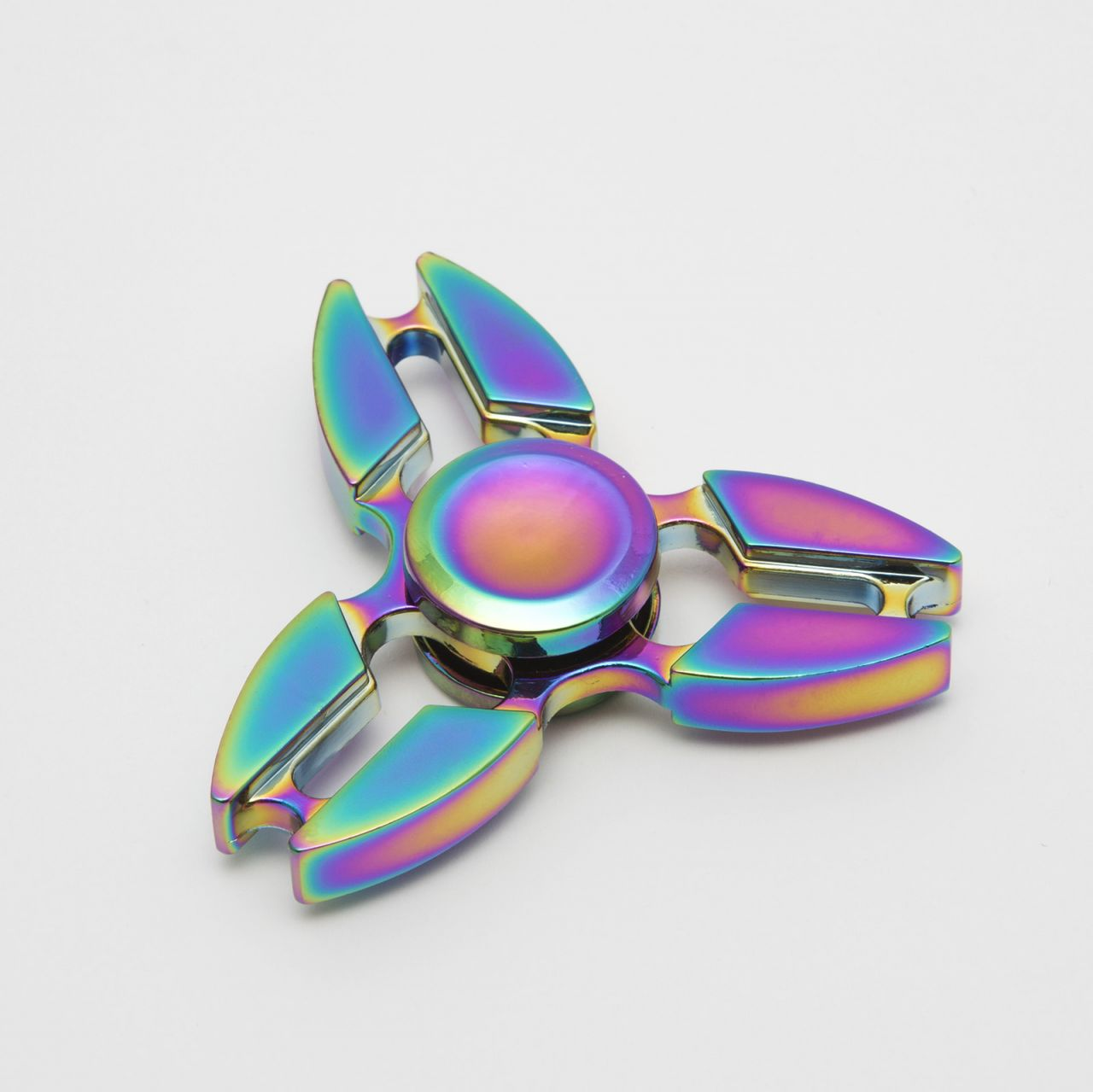 Színváltós fém Spinner