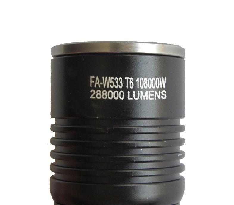 Többfunkciós LED izzós, akkus zseblámpa