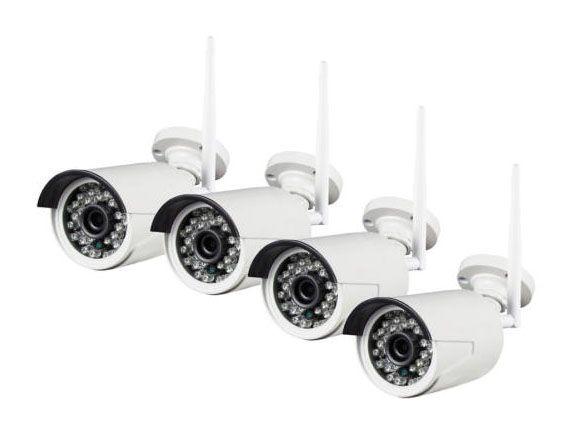 4 kamerás vezeték nélküli megfigyelő rendszer fejegységgel