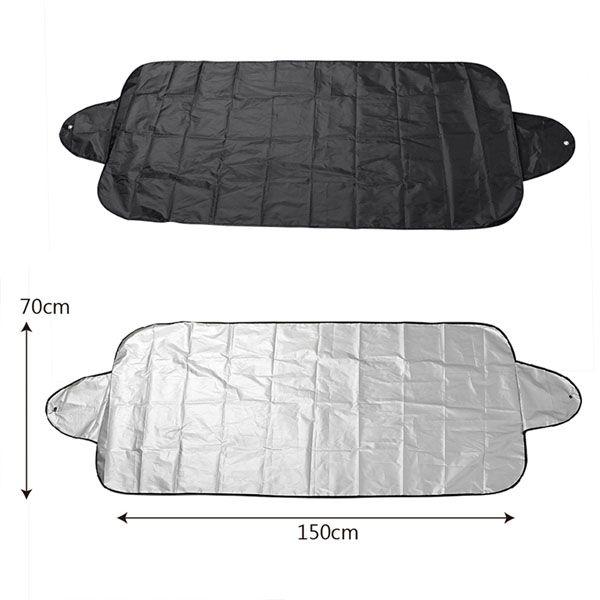 2 funkciós téli-nyári szélvédő takaró