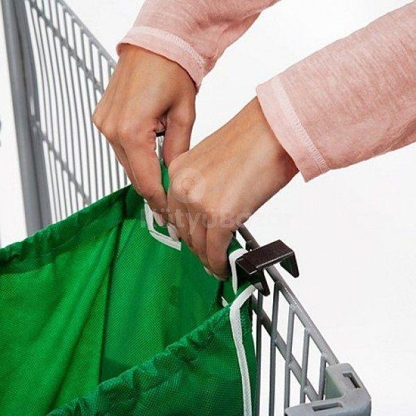 Bevásárlókocsira akasztható táska