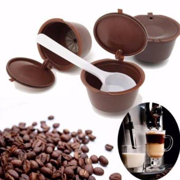 Újratölthető kávékapszula