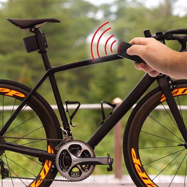 Távirányítós bicikli riasztó