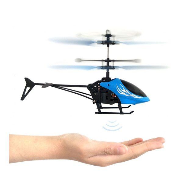Kézből felszálló, tenyérrel irányítható helikopter