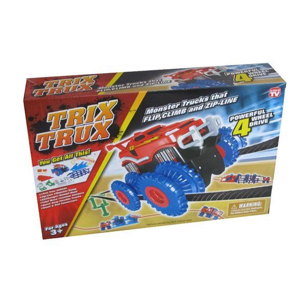 Trix Trux - Nagy kerekű terepjáró autó extrém pályával