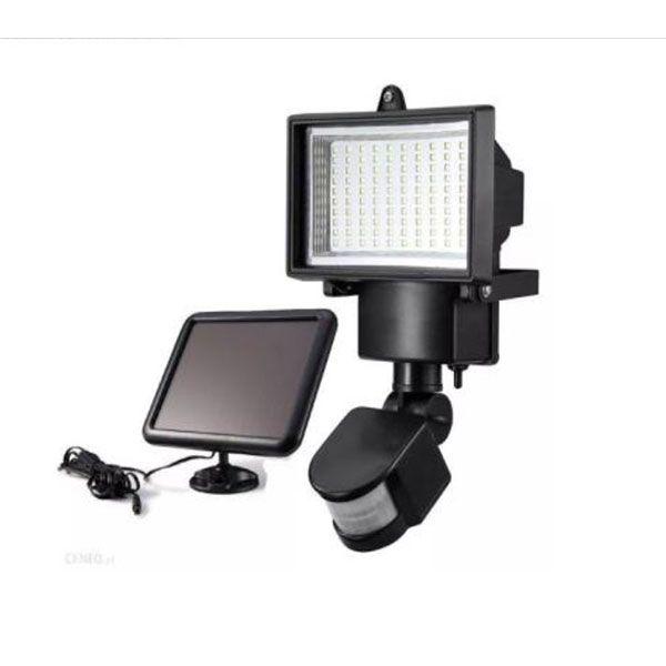 Napelemes mozgásérzékelős 100 LED izzós reflektor lámpa