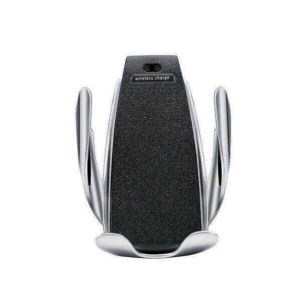 Intelligens telefon tartó és vezeték nélküli töltő, S5