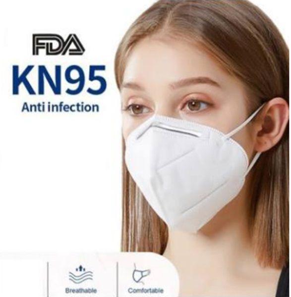 KN95 (FFP2) 4 rétegű védőmaszk